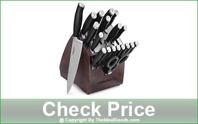 Calphalon Contemporary Self-Sharpening 20-Piece Kitchen Knife Block Set