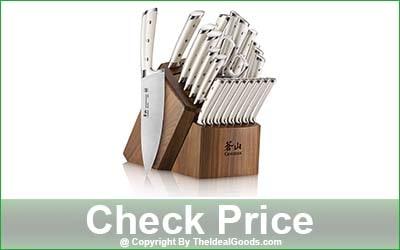 Cangshan S1 Series 23-Piece Kitchen Knife Block Set