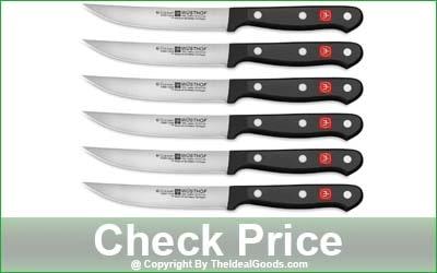Wüsthof Gourmet 6-Piece Fine Edge Steak Knife Set