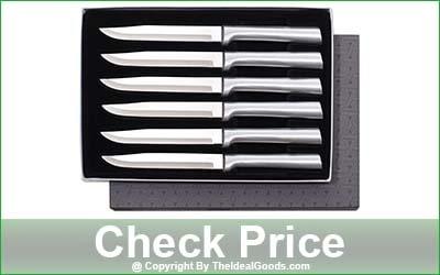 Rada Cutlery 6-Piece Non Serrated Steak Knife Set