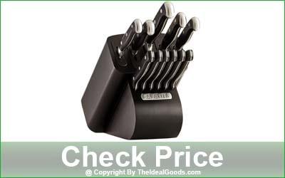 Sabatier Edgekeeper Pro 12-Piece Self-Sharpening Kitchen Knife Block Set