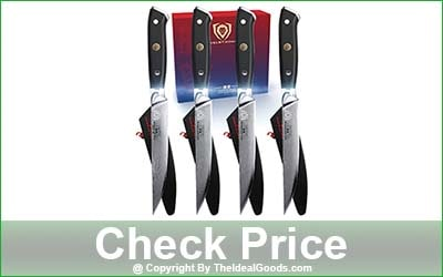 DALSTRONG Shogun Series 4-Piece Damascus Steak Knife Set