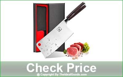 imarku Meat Cleaver Knife - 7-Inch Blade