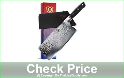 DALSTRONG Shogun Series X Cleaver Knife - 7-Inch Blade