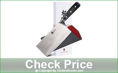 KYOKU Samurai Series Cleaver Knife - 7-Inch Blade