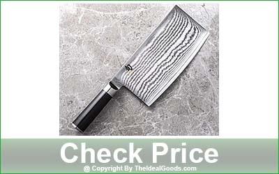 Shun Classic Cleaver Knife - 7-Inch Blade