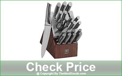 HENCKELS J.A International Graphite 20-Piece Self-Sharpening Block Set